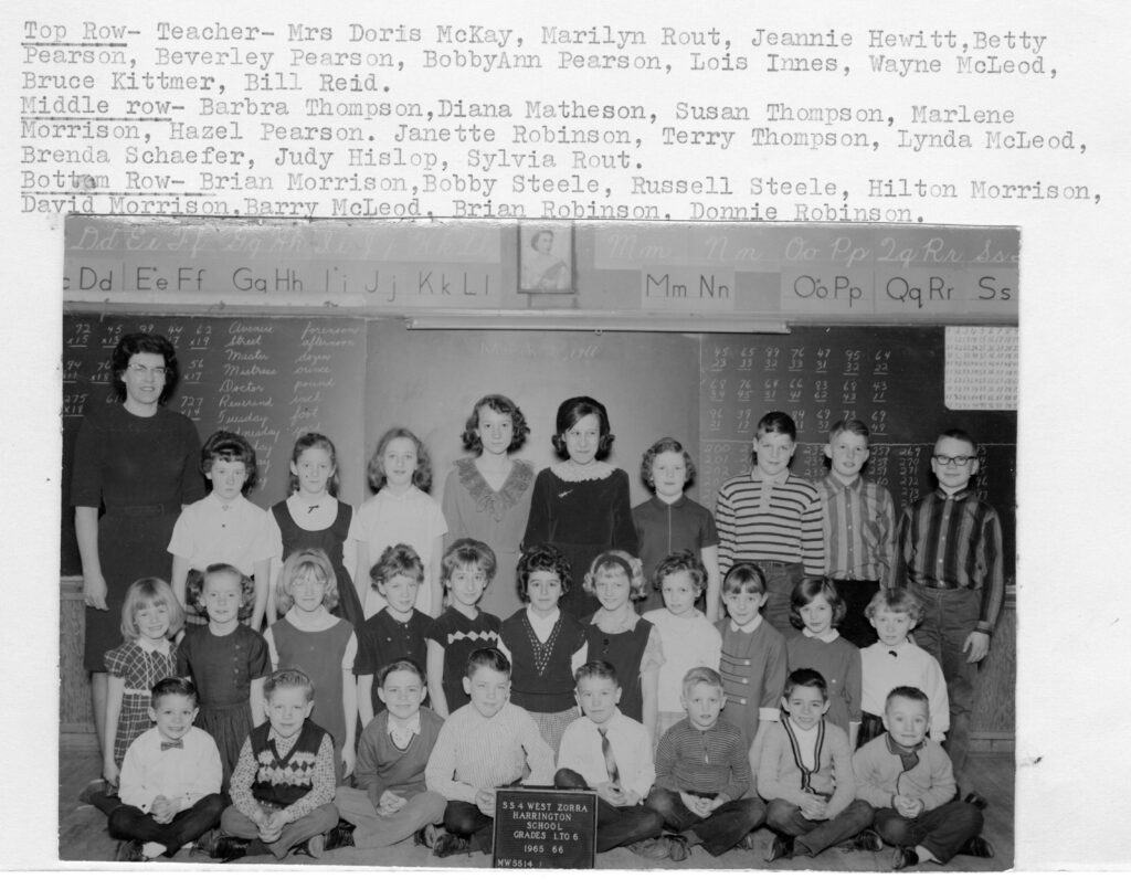 Harrington Public School Class of 1965-1966